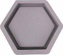 Rikey Hexagon Geformte Zement Blumentopf Formen