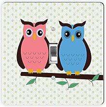 Rikki Knight Owl Love You Deco owl-Single Toggle