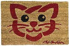 Rikki Tikki 501850 Fußmatte, Motiv: Katze, 40 x