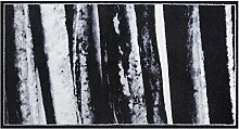 Rikki Tikki 601835 Fußmatte, Holz-Optik