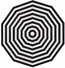 Rindsleder Teppich Designer Handnähteppich |