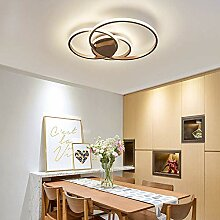 Ring Design Decken Lampe Runde LED Aluminium