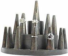 Ringhalter/Etagere Ringe (13Räucherkegel) aus