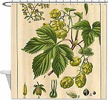 "rioengnakg Pflanzen Dekoration Wasserdicht Polyester Duschvorhang, #1, 72""""x72""""(180x180cm)"