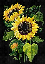 Riolis 4779046180118 Sonnenblumen Diamanten