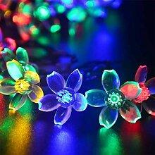 Riotis LED Floral Light String Batteriebetriebene
