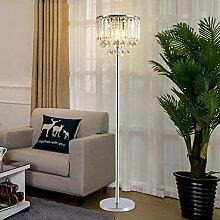 Rishx Kristall Stehlampe Schreibtischlampe Moderne