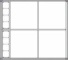 Ritto 1554770 Gehäuse 4fach + 8 Modulplätze,