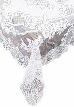 Ritz Spitze Tischläufer, weiß, 53 x 53