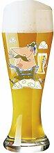 RITZENHOFF 1020183 Weizen Design Weißbierglas mit