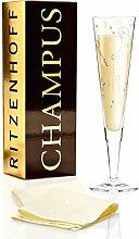 RITZENHOFF 1070224 Design Champagnerglas, Sektglas