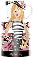 Ritzenhoff 1510163 My Darling Design Kaffeebecher, Kaffeetasse, Becher, Sandra Brandhofer, Frühjahr 2015