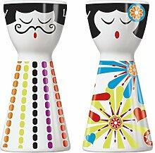 Ritzenhoff 1710059 Mr. Salt und Mrs. Pepper Design, Salzstreuer und Pfefferstreuer, Debora Jedwab, Frühjahr 2015