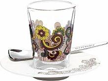 Ritzenhoff 2600005 Espressoglas mit Untertasse