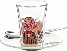 Ritzenhoff 2600009 Espressoglas mit Untertasse