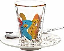 Ritzenhoff 2600013 Espressoglas mit Untertasse