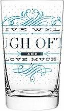 Ritzenhoff 3270004 Everyday Darling Design Softdrink-/Wasser-/Trink Glas, Burkhard Neie, Frühjahr 2015