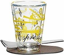 RITZENHOFF 3330003 A Cuppa Day Espressoglas,