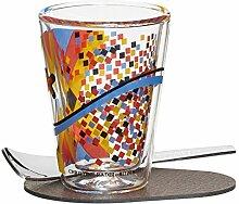 RITZENHOFF A Cuppa Day Espressoglas, Glas,