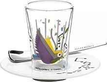 Ritzenhoff BACINO Espressoglas mit Untertasse und Löffel by Pietro Chiera 2011 (24,95 EUR / Stück)