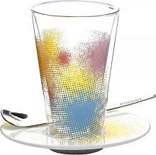 Ritzenhoff BACIONE Latte Macchiato Glas mit Untertasse Tassilo von Grolman 2011 (29,95 EUR / Stück)