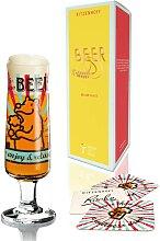 Ritzenhoff BEER Bierglas, Biertulpe mit