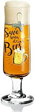 Ritzenhoff BEER Bierglas, Biertulpe SAVE WATER by