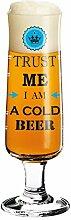 RITZENHOFF Beer Bierglas, Glas, Mehrfarbig, 5.5 cm