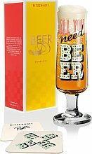 Ritzenhoff BEER Bierglas, Need Beer mit