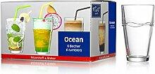 Ritzenhoff & Breker 6er Becher 37CL 685398 Ocean Trinkgläser Flir