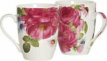 Ritzenhoff & Breker Kaffeebecher-Set Rosa,