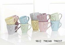 Ritzenhoff & Breker Kaffeetassen Heart Größe 6er