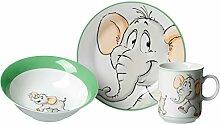 Ritzenhoff & Breker Kindergeschirr Set Elefant,