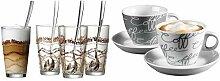 Ritzenhoff & Breker Latte Macchiato Gläser-Set,