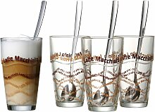 Ritzenhoff & Breker Latte-Macchiato-Glas (4-tlg.)