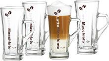 Ritzenhoff & Breker Latte-Macchiato-Glas Crema,