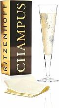 Ritzenhoff CHAMPUS Champagnerglas, Fisch mit