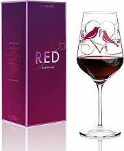 RITZENHOFF Red Weinglas, Glas, Mehrfarbig 9,4 x