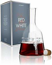 RITZENHOFF Red & White Weinkaraffe, Glas,