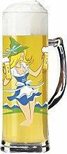 RITZENHOFF Seidel Bierglas, Glas, Mehrfarbig, 8 cm