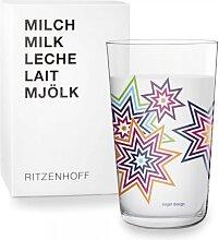 Ritzenhoff THE NEXT MILK Milchglas, Trinkglas STERNE by Sieger Design 2017 (17,50 EUR / Stück)