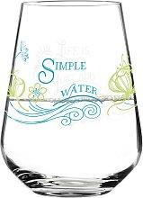 Ritzenhoff Wasserglas, Trinkglas AQUA E VINO grün