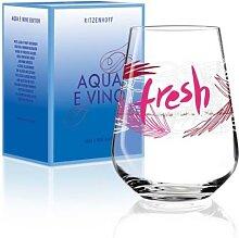 Ritzenhoff Wasserglas, Trinkglas AQUA E VINO rot