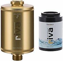 riva Dusch-Filter-Set STANDARD (gold). Schützt