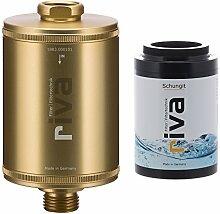 riva Filter | Duschfilter-Set SCHUNGIT (GOLD) |