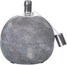 Rivanto 2 Stück Öllampe aus Beton, Größe L, Ø