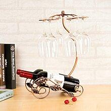 RIVAY KITCHEN High-End-Weinglas Rack auf den Kopf