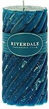 Riverdale 009357-16 Kerze Swirl meergrün