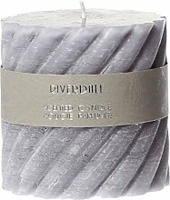 Riverdale 009509-11 Kerze Swirl cool grey 10 x 10