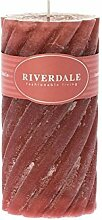 Riverdale Duftkerze Swirl Rose 7,5x15 cm - Duft